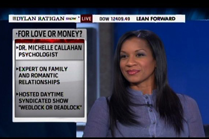 Dr. Michelle on The Dylan Ratigan Show