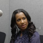 Dr. Michelle at FAMU radio station